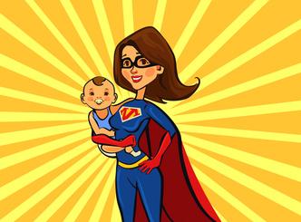 Wer ist nun die Super-Mutter?