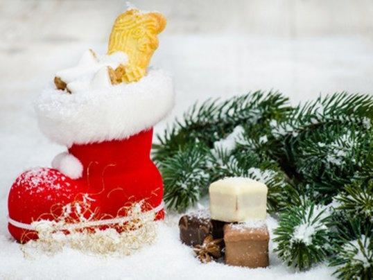 Nikolaus bringt geschenke