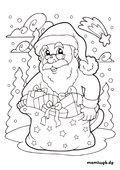 Ausmalbilder Weihnachten Geschenke