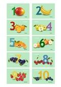 Zahlenkarten 1-10