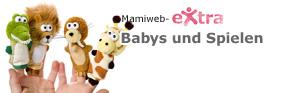 Babys und Spielen