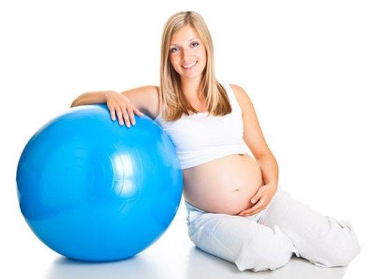 sport-in-der-schwangerschaft-gymnastikball