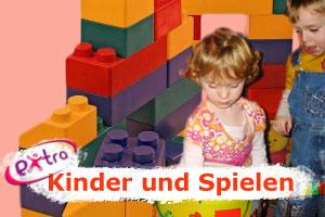 Kinder und Spielen