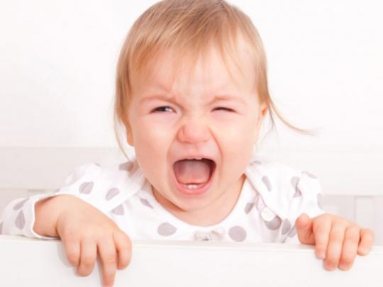 Schrilles Schreien Baby