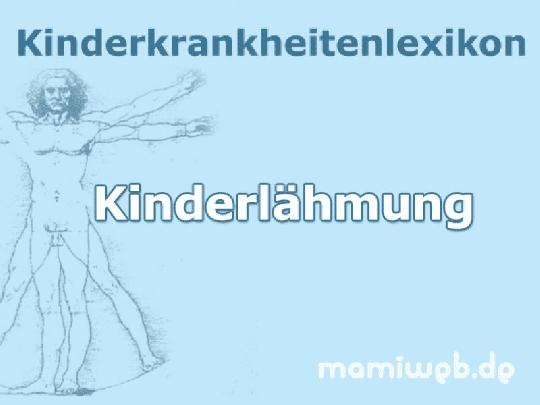 kinderlaehmung-bei-kindern