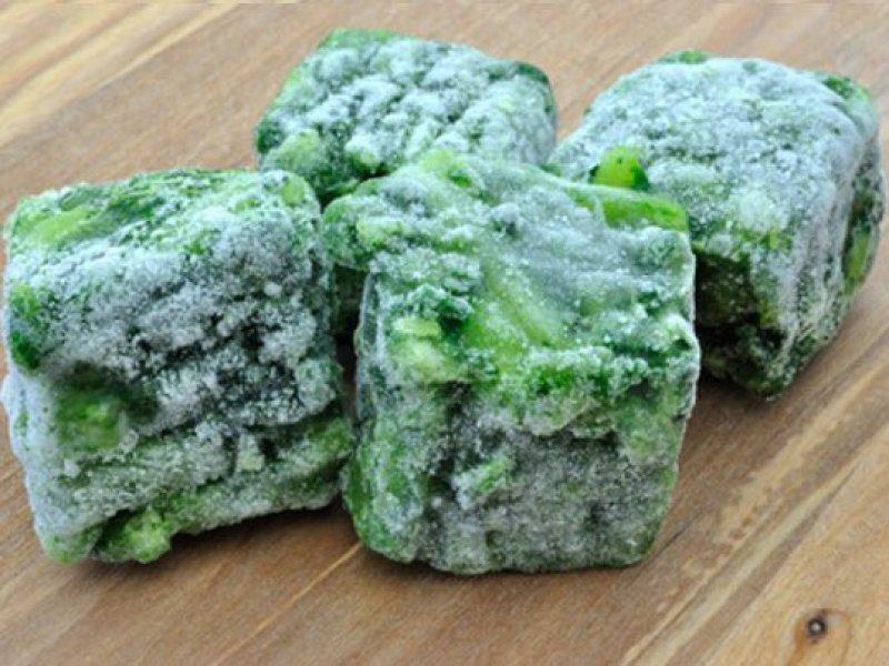 spinat-eingefroren