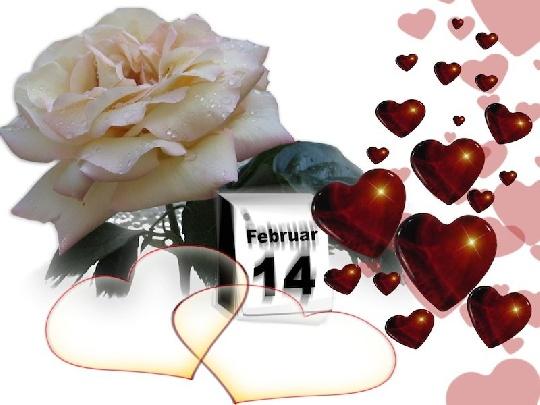 Valentinstag: Woher Kommt Dieser Brauch? Valentinstag. Der Tag Der Liebe