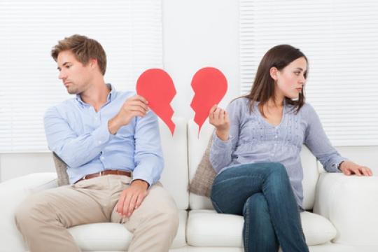 Phasen einer Trennung für Frauen