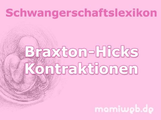 braxton-hicks-kontraktionen