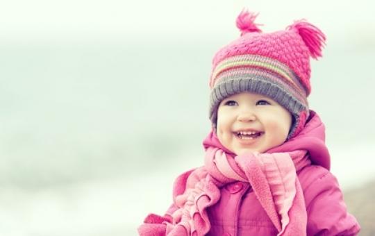 Kleid im winter anziehen