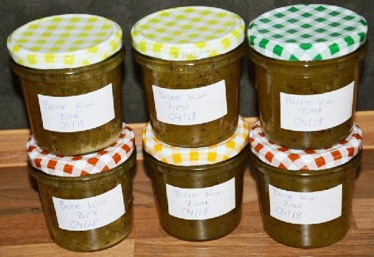 Kochen Mit Kindern Bio Birnen Kiwi Marmelade Mamiwebde