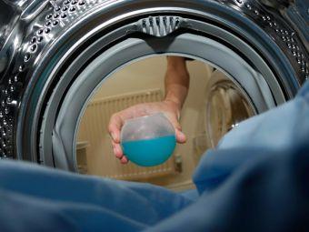 Busenpanzer blockiert Waschmaschine