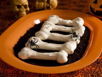 Halloween Knochen Rezept