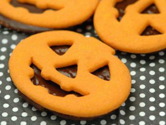 Halloween Nougat Taler Rezepte