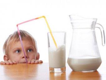 Milch in der Ernährung von Kindern